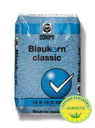 Hnojiva Compo - Blaukorn Classic 12-8-16+3+ME