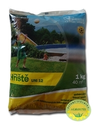 UNI 12 - Hřiště Směs pro silně zatěžovaná hřiště, 2 kg - 1
