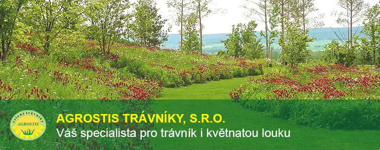 Agrostis trávníky, s.r.o. Váš specialista pro trávník i květnatou louku